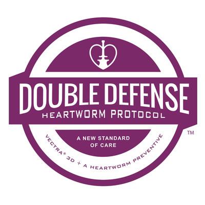 Double Defense Heartworm Protocol Logo