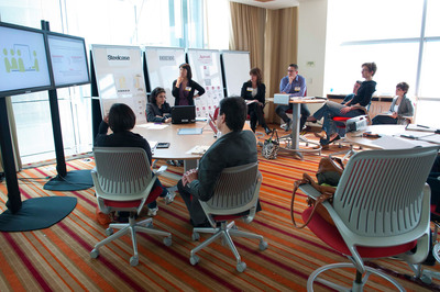 Marriott Hotels & Resorts, Steelcase, and IDEO Collaborate to Innovate on the Future of Meetings and Work.  (PRNewsFoto/Marriott International)
