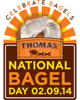 Thomas'(R) Toasts National Bagel Day With Free Bagels Across America.  (PRNewsFoto/Bimbo Bakeries USA)