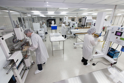 ILC Dover's New Class 7 Cleanroom Supports Biopharm Powder Transfer Products.  (PRNewsFoto/ILC Dover)