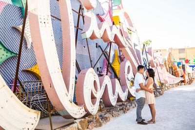 The Neon Museum in Las Vegas is one of America's Ten Best Places to Get Engaged, according to the experts at George Street Photo & Video, a premier, award-winning wedding photography company.