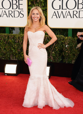 Hayden Panettiere wears Rahaminov for Forevermark at the 70th Annual Golden Globes. (PRNewsFoto/Forevermark) (PRNewsFoto/FOREVERMARK)