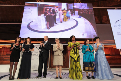 L'OREAL-UNESCO For Women In Science 2013 Laureates.  (PRNewsFoto/L'OREAL)