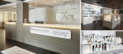 SkinCeuticals and Plastic Surgery Associates announce the opening of Grand Pearl Advanced Clinical Spa.