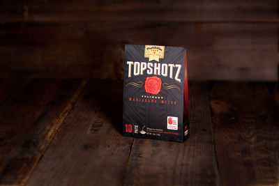 Prohibition Gold's Topshotz 10-pack box.