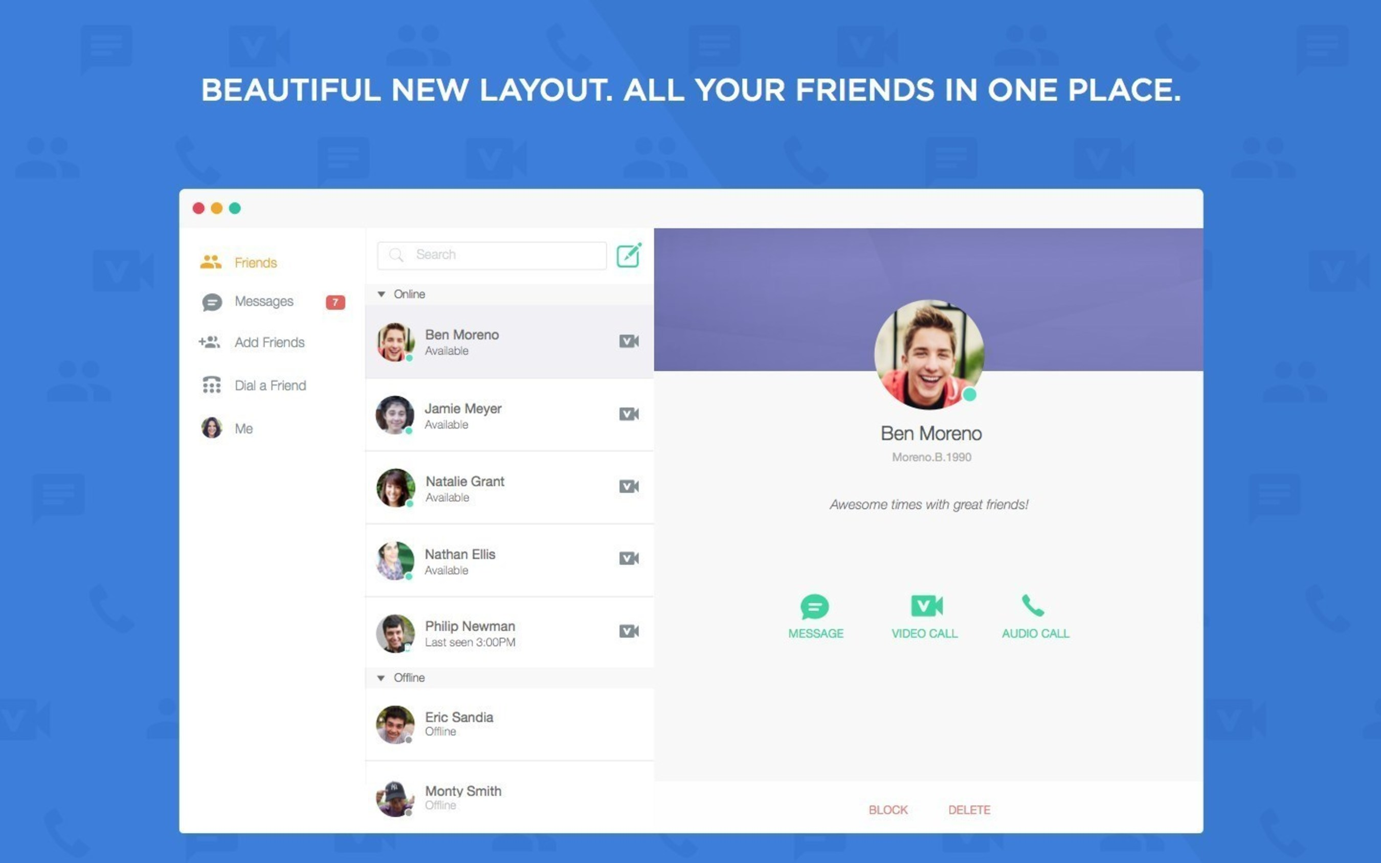 ooVoo Releases a Brand New Look for Mac