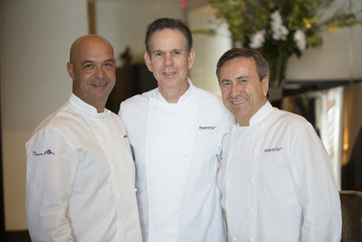 From L-R: ment'or Founders Chefs J. Bocuse, T. Keller, D. Boulud