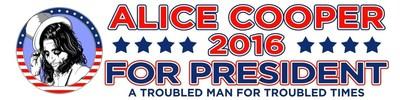 Alice Cooper for President