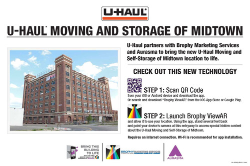 U-Haul Partners with Brophy Marketing Services and Aurasma to Bring the U-Haul Moving and Self