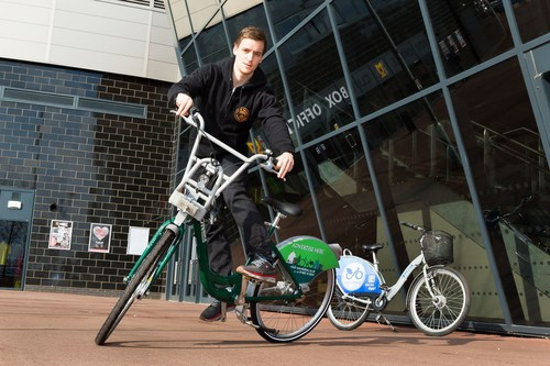 10 million rides later... New organisation Bikeplus launched today to grow the network of public bike share schemes in towns and cities across the UK (PRNewsFoto/Carplus) (PRNewsFoto/Carplus)