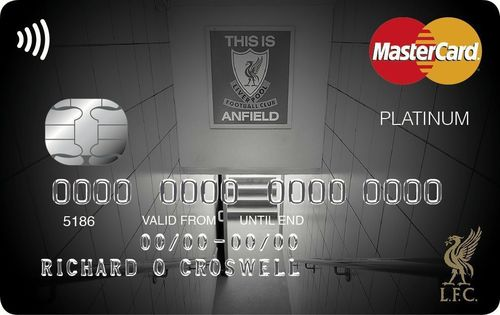 The Liverpool FC credit card from MBNA (PRNewsFoto/MBNA Limited)