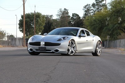 2012 Fisker Karma Sedans (Lot S50) Photo Courtesy of Mecum Auctions