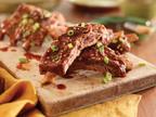 Slow-Cooker Hawaiian Style Ribs.   (PRNewsFoto/The National Pork Board)