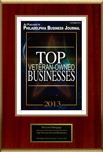 """7th Level Mortgage LLC Selected For """"Top Veteran-Owned Businesses"""".  (PRNewsFoto/7th Level Mortgage LLC)"""