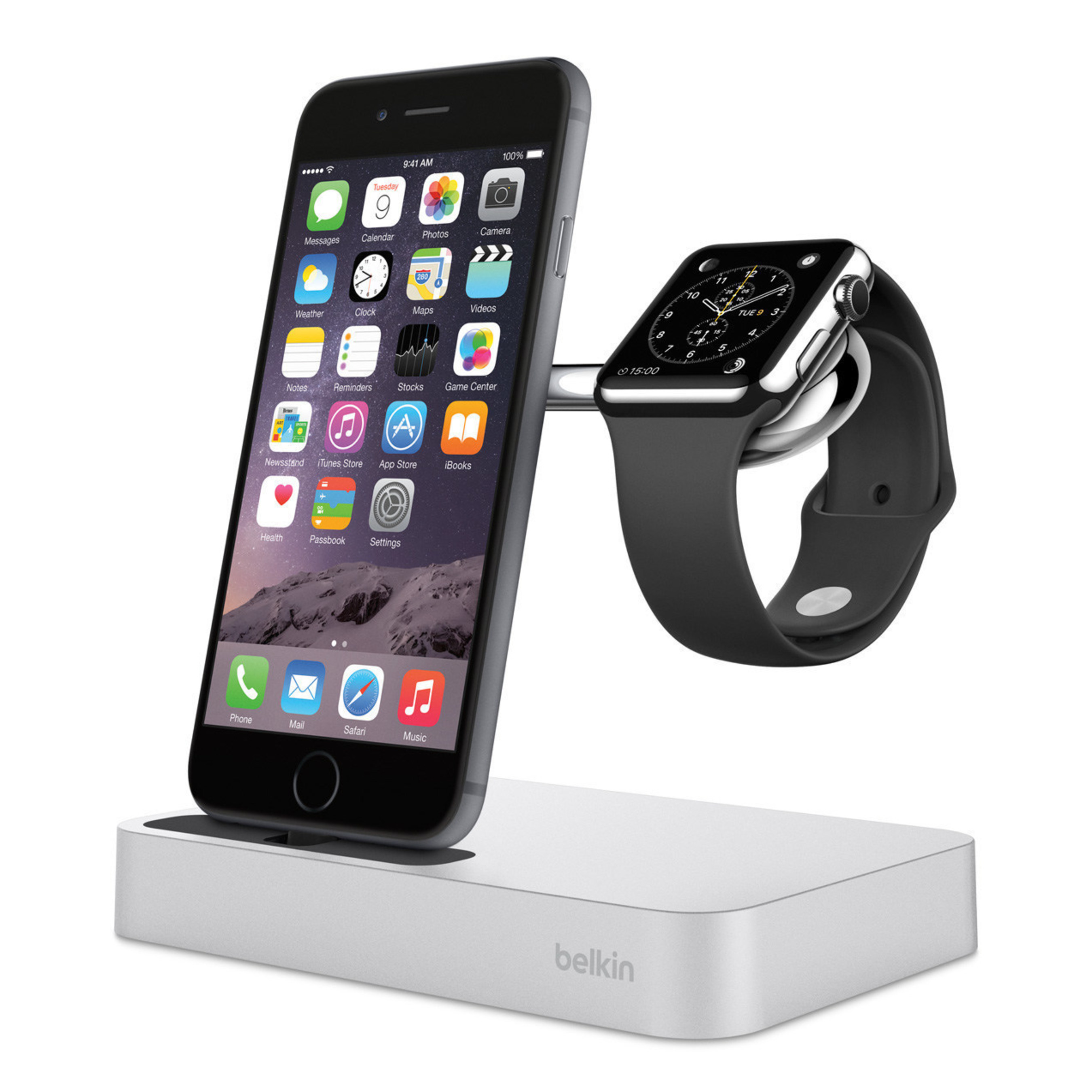 Belkin Introduces Charge Dock with Integrated Charging for the Apple Watch + iPhone