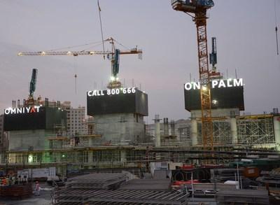 One Palm Construction (PRNewsFoto/Omniyat)