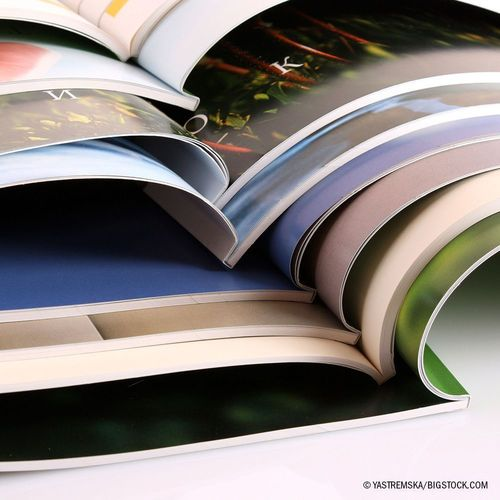 The European online print service provider Onlineprinters GmbH further expands its product range in brochures. The brochure specialist prints the versatile advertising products in a wide variety of print runs from one to 200,000 copies. They are available in the online shop and come with saddle stitching, eyelet binding or as spiral booklet. Newly added to our product range are brochures in small print runs. Copyright: Â(C) Yastremska/Bigstock.com (PRNewsFoto/Onlineprinters GmbH)