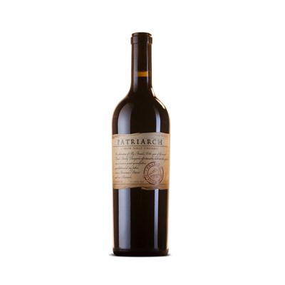 The 2012 Patriarch label is modeled after the butcher paper that Hy Frank used daily at Heide Meat Company, the wholesale meatpacking company he founded upon his return from World War II