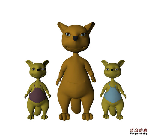 China's Original 3D Animation 'Kangaroo Baby' to Debut in Cannes.  (PRNewsFoto/Shenzhen Haha Animation Media Technology Co. Ltd)