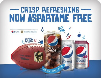 Today, U.S. consumers can begin to purchase the new aspartame-free Diet Pepsi, with the refreshingly crisp, great taste fans have come to expect from Pepsi.