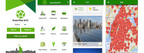 Screen shots of GreenStar NYC mobile app