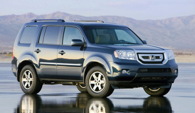 The 2014 Honda Pilot is expected to offer better fuel economy and more convenience than the 2013 model.  (PRNewsFoto/Benson Honda)