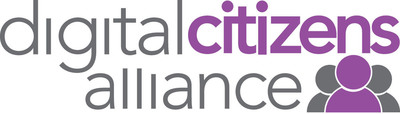 Logo for the Digital Citizens Alliance. Digital Citizens is a consumer-oriented coalition focused on educating the public and policy makers on the threats that consumers face on the Internet and the importance for Internet stakeholders - individuals, government and industry - to make the Web a safer place. (PRNewsFoto/Digital Citizens Alliance) (PRNewsFoto/DIGITAL CITIZENS ALLIANCE)