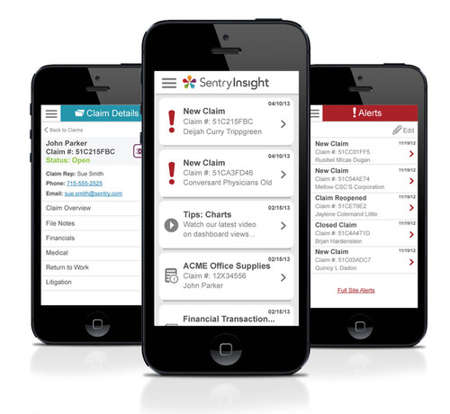 Sentry Insurance Launches Sentry Insight Mobile, An On-The-Go Risk Management Solution.  (PRNewsFoto/Sentry Insurance)