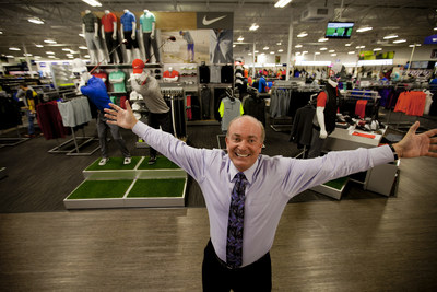 PGA TOUR Superstore CEO & President Dick Sullivan at the company's new 50,000 square foot store in Orlando, located less than a mile from Golf Channel's headquarters. The two industry leaders in golf have signed a multi-year,  national deal including a brand integration program and a strategic media buy.