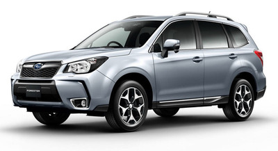 The 2014 Subaru Forester is one of the safest compact crossover SUVs currently available. (PRNewsFoto/Briggs Auto Group)