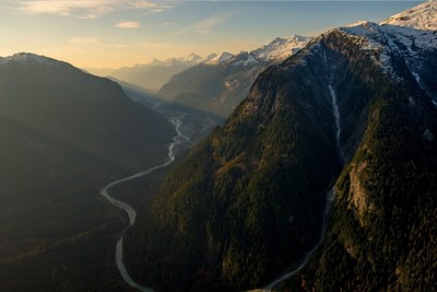 British Columbia's rivers are conveyor belts from the mountains to the ocean. The ASJ team used inflatable packrafts to paddle downriver and complete their route across BC's coast range (as seen in Crossing Home: A Skier's Journey).