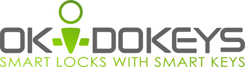 OKIDOKEYS - Smart Locks with Smart Keys.  (PRNewsFoto/OKIDOKEYS)