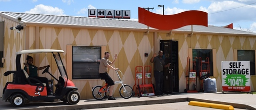 U-Haul Moving and Storage of Cedar Hill Adds Services to Assist Growing Population. (PRNewsFoto/U-Haul)