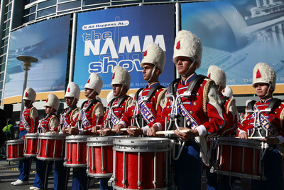 Strong School Band and Orchestra Sales Driving Retail into NAMM Show.  (PRNewsFoto/The National Association of Music Merchants (NAMM))