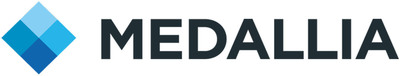 Medallia company logo.