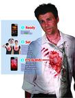iWound Zombie Costume. (PRNewsFoto/Mr. Costumes)
