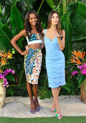 Victoria's Secret Supermodels Celebrate the Sexiest Push Ups and The Victoria's Secret Swim Special