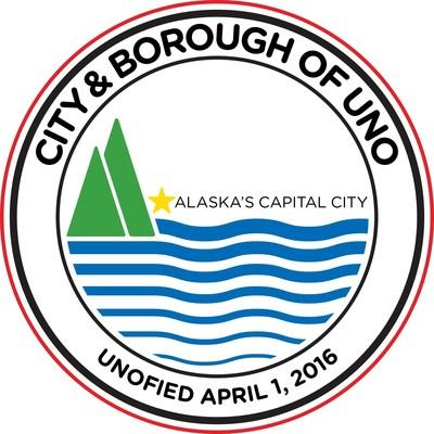 City & Borough of UNO, Alaska Release New Seal Tied to Landmark Naming-Rights Deal that Renames Alaska's capital city to UNO, Alaska