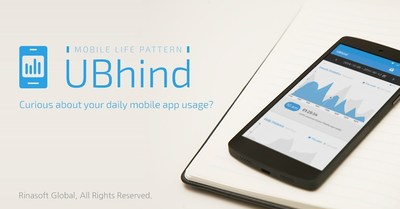 Smartphone addiction prevention app 'UBhind -- Mobile Pattern Life'