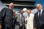 Jean-Claude Biver, Pele, Lapo Elkann and Ricardo Guadalupe (PRNewsFoto/HUBLOT)