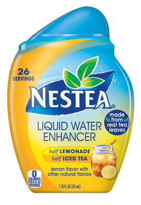 Nestea(R) Liquid Water Enhancers come in a variety of flavors including Half Lemonade & Half Iced Tea (shown here) available nationally at Target stores starting in September. (PRNewsFoto/Nestle Waters North America) (PRNewsFoto/NESTLE WATERS NORTH AMERICA)