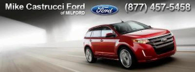 Mike Castrucci Ford of Milford stocks the 2013 Ford Edge in Cincinnati, OH.  (PRNewsFoto/Mike Castrucci Ford of Milford)