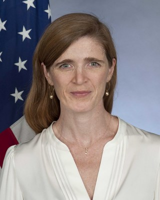 Samantha Power, U.S. Ambassador to the United Nations, will receive the 2016 Henry A. Kissinger Prize at the American Academy in Berlin on June 8, 2016. Amb. Power Official Portrait
