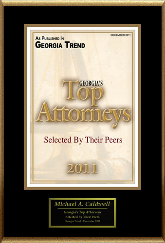 Michael A. Caldwell Selected for 'Georgia's Top Attorneys'