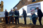 Governor Bob McDonnell and Shamrock Farms executives break ground on new manufacturing facility in Virginia.  (PRNewsFoto/Shamrock Farms)