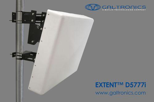 EXTENT[TM] D5777i 30/30 degree(s) narrow beamwidth MIMO panel antenna (PRNewsFoto/Galtronics Corporation Ltd)