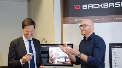 Dutch Prime Minister Mark Rutte Opens New Backbase US HQ in Atlanta (PRNewsFoto/Backbase) (PRNewsFoto/Backbase)