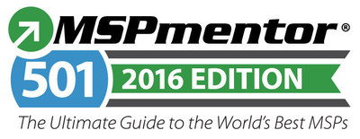 Penton's MSPmentor Announces 2016 MSP 501 Survey and Rankings Is Open for Submissions