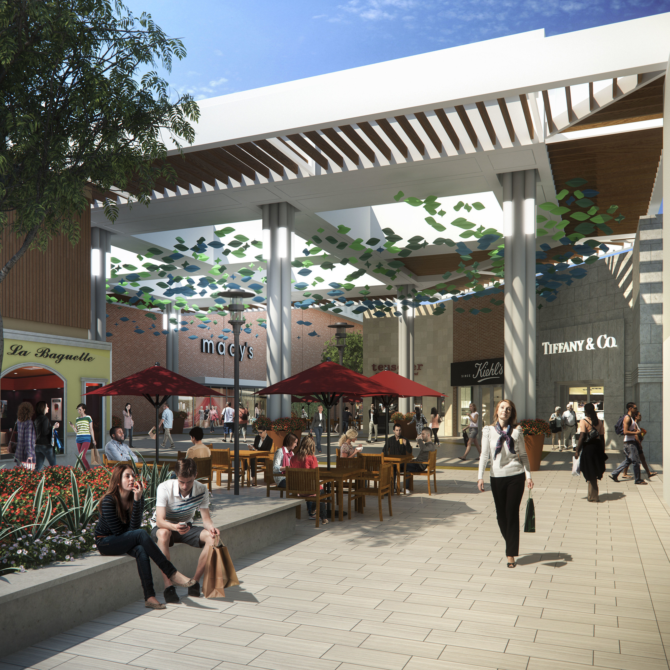 Stanford Shopping Center, celebrating its 60th anniversary in 2016, has undergone an extensive transformation.