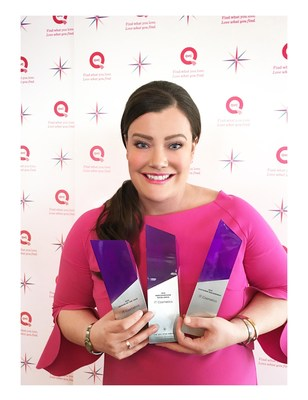 Jamie Kern Lima, Co-Founder and CEO, IT Cosmetics Wins Three QVC Star Awards